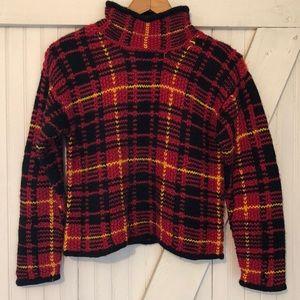 Vintage wool blend sweater